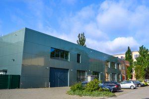 technisches Gebäude der TU Magdeburg