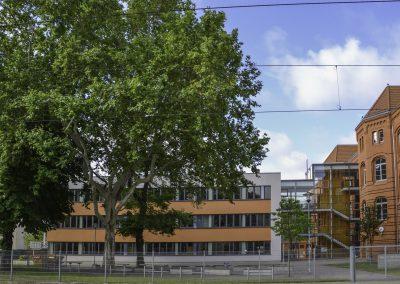 Sporthalle des Siemens Gymnasiums in Magdeburg