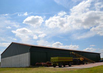 Landwirtschaftliche Lagerhalle in Calbe